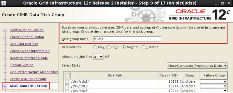 GIMR DB in Oracle Database 12 2 – Upgrade your Database - NOW!